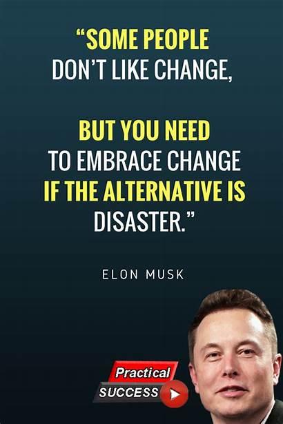 Quotes Self Habits Success Billionaire Billionaires Musk