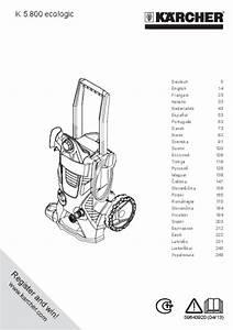 Aspirateur Ne Démarre Plus : notice aspirateur sans sac karcher k5200 compact et pi ces ~ Dailycaller-alerts.com Idées de Décoration