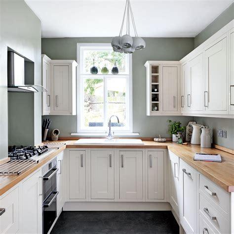 shaped kitchen ideas designs  suit  space