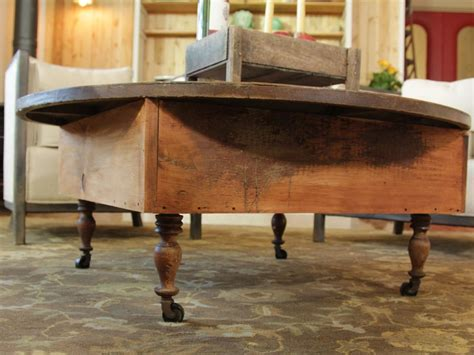 how to build a coffee table how to build a reclaimed wood coffee table how tos diy