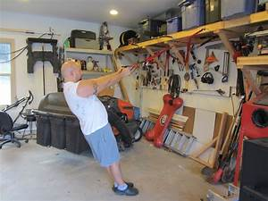 DIY TRX straps and the garage workout the common mans