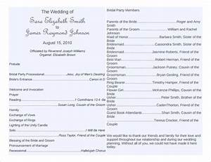 wedding program template 64 free word pdf psd With free templates for church programs