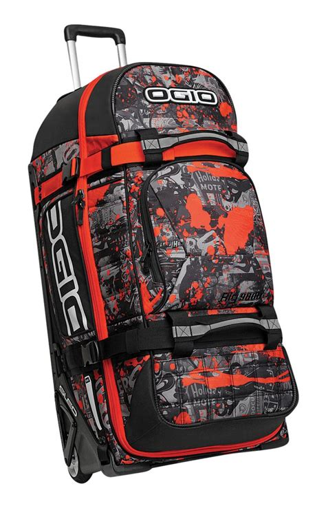ogio motocross gear bags ogio rig 9800 rolling luggage wheeled travel track gear