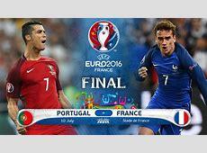 Portugal France Euro 2016 Final Preivew Ronaldo Griezmann