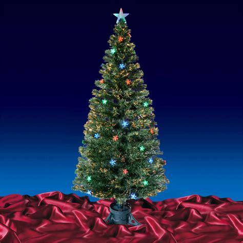 green light christmas tree green fibre optic artificial christmas tree multi led
