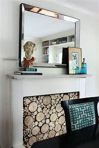 faux fireplace ideas Faux Fireplace Ideas and Projects | Decorating Your Small Space