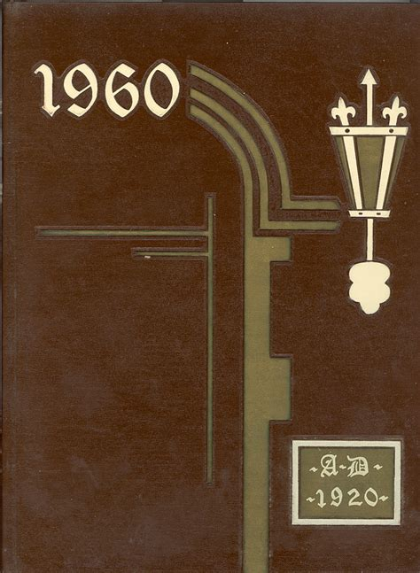 1960 Sheboygan Central High School Yearbook Front Cover