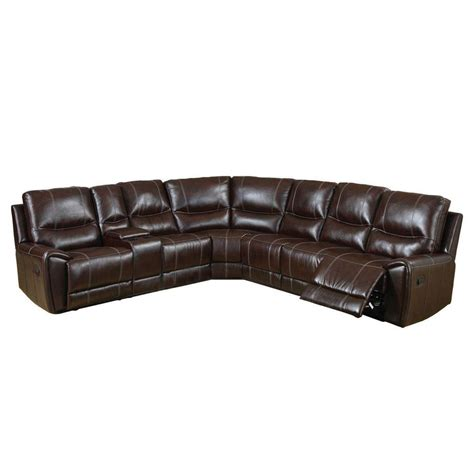 furniture of america sofa reviews furniture of america keystone brown bonded leather