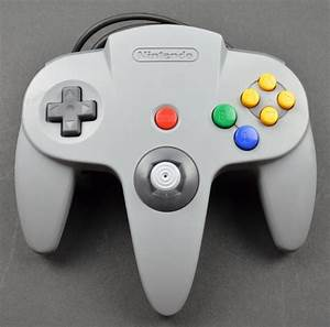 Nintendo 64 Grey Game Controller