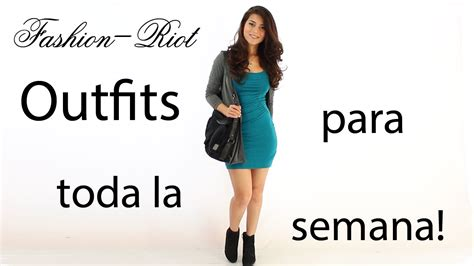 Outfits para el Regreso a Clases | Fashion Riot - YouTube