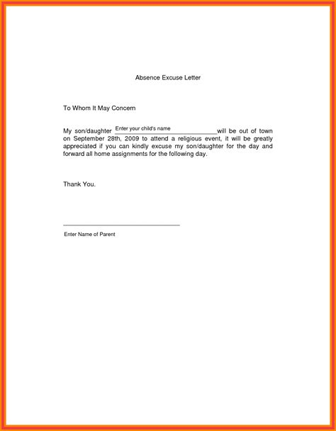 absent letter penn working papers