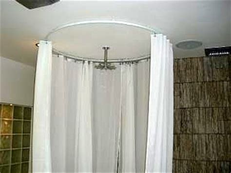 projects ideas shower curtain rod shower