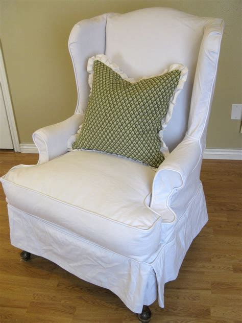 wing chair slipcover white jen joes design wing