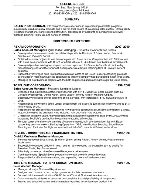 resume sles for sales associate retail a resume