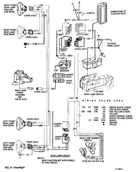 Corvair Wiring Diagram Circuit