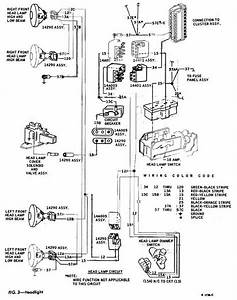 Headlight Schematic Diagram Of 1967