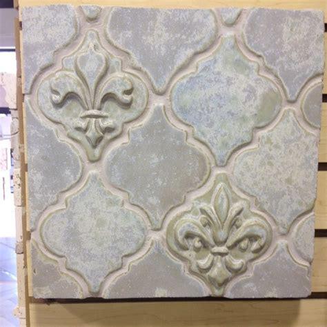 kitchen islands oak fleur de lis tile laundry room with backsplash fleur