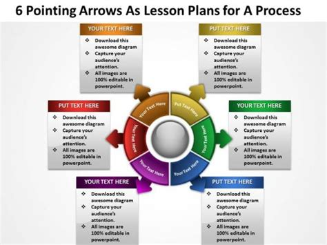 pointing arrows  lesson plans   process powerpoint