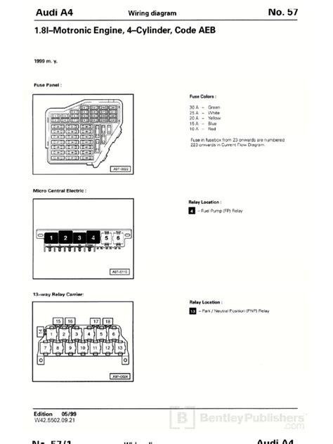 1999 a4 18t ecu wiring