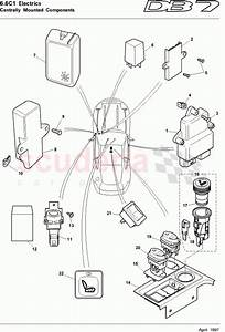 Aston Martin Db7  1997  Centrally Mounted Components 1
