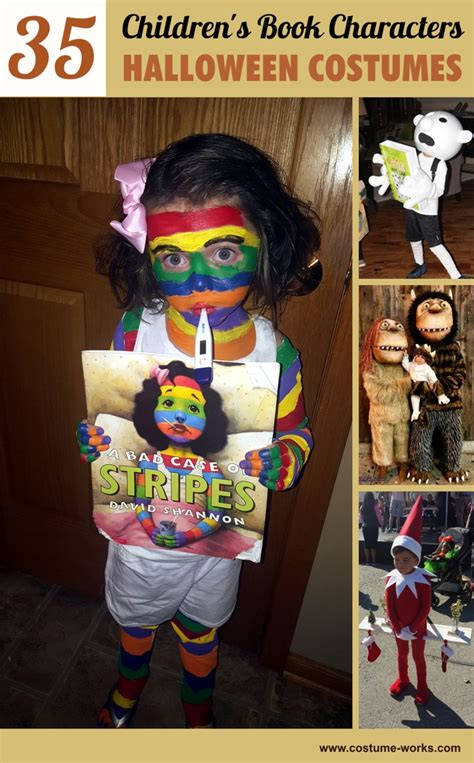 favorite childrens book characters halloween costumes