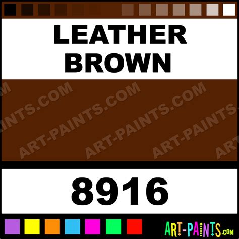 leather brown spray enamel paints 8916 leather brown