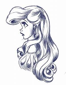 Disney Princess Black And White Clipart - Clipart Suggest