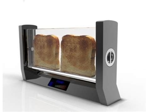 Glass Toaster by Glass Toaster Le Kitchen Toaster Cool Kitchen Gadgets