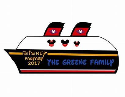 Cruise Disney Ship Clipart Believe Door Clipartmag