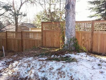 Fence Wooden Fences Property Winter Type Colorado