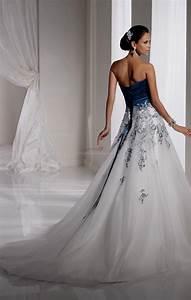 royal blue and white wedding dresses Naf Dresses