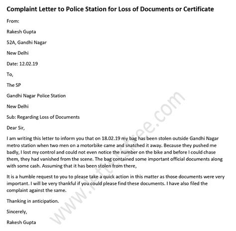 sample complaint letter  airline  letters