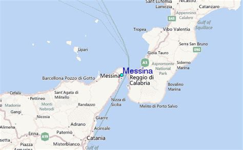 messina tide station location guide
