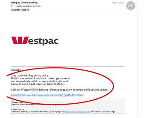 us bank fraud department phone number identity theft warning westpac email scam phishing
