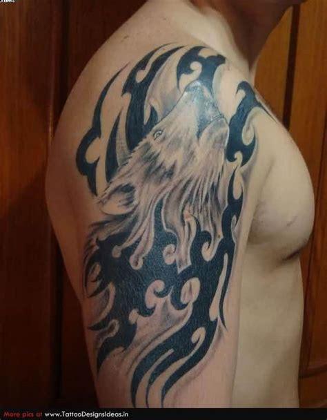 wolf tattoos  men improb