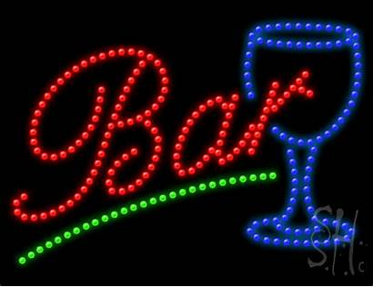 Neon Bar Animated Sign Led Signs 1000