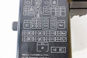 2002 Mitsubishi Montero Sport Fuse Box Diagram