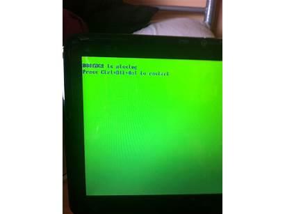 Screen Laptop Hp Login Showing Display Startup