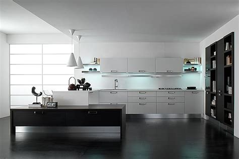 white and black kitchen designs abril 2013 cocinas con estilo 9204