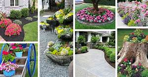 50, Best, Front, Yard, Landscaping, Ideas, And, Garden, Designs, For, 2017
