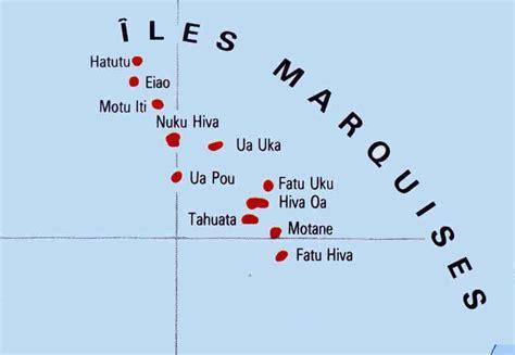 les iles marquises carte marquises voile polynesie