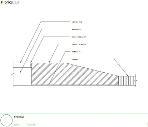 threshold detail aia cad details zipped  winzip