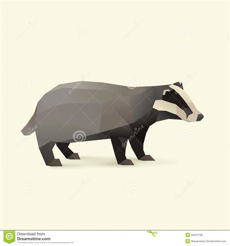 The Honeybadger Html Page Templates by Badger Cartoons Illustrations Vector Stock Images