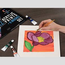 Top 10 Best Acrylic Paint Reviews  For Beginners And