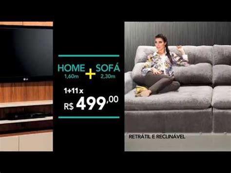 sofa retratil e reclinavel ambientare casa promoção home sofá retrátil e
