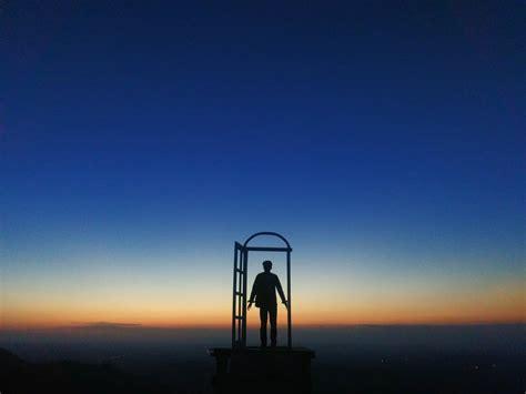 spot selfie terbaru  pintu langit jogja