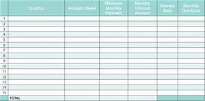 Debt Worksheet Worksheets Tataiza Free printable