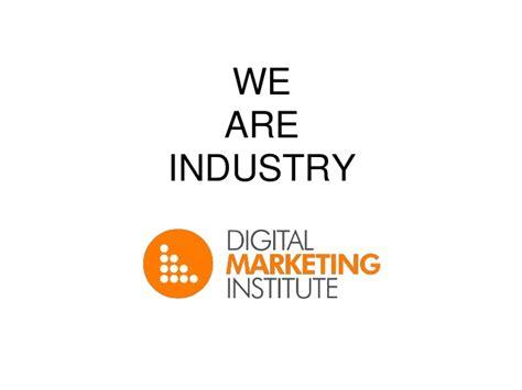 digital marketing institutes digital marketing institute open evening presentation