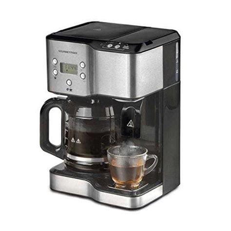 hilfe anleitungen fuer die gourmetmaxx kaffeemaschine