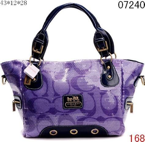 blue handbags purple handbags  coach
